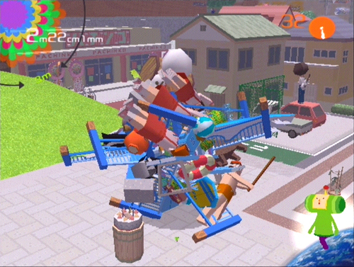 Image result for katamari damacy gameplay